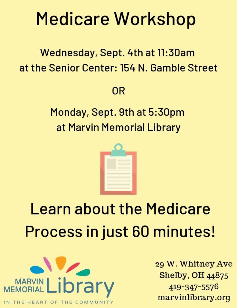 Medicare Workshop @ Senior Center