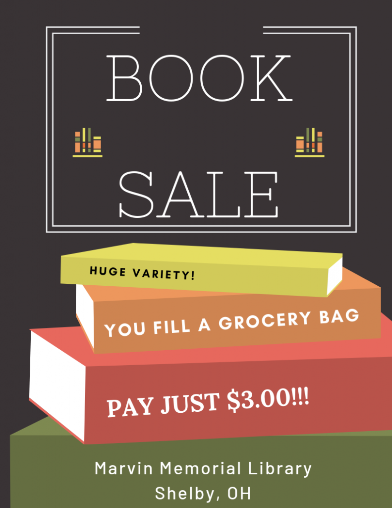 Friends Book Sale! @ Marvin Memorial Library
