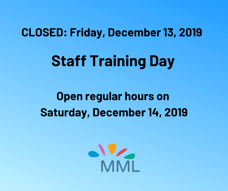 CLOSED: Staff Training Day @ Marvin Memorial Library